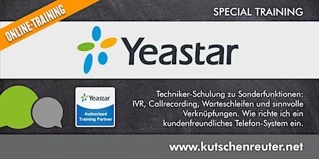 Yeastar S-Serie: IVR & Warteschleifen. Einrichtung und effiziente Nutzung. Tickets