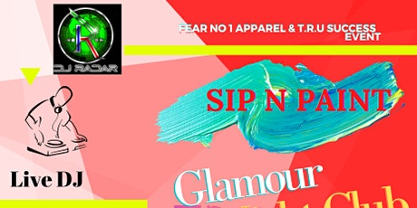 Sip and Paint at Glamour's tickets
