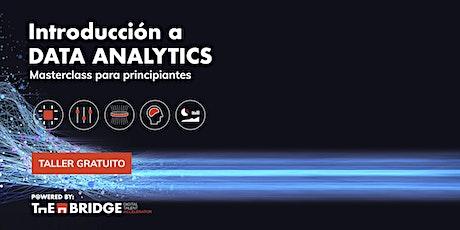 Taller: Introducción a Data Analytics boletos