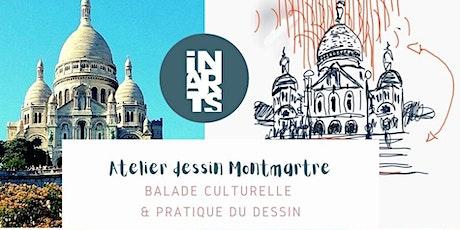 Atelier dessin à Montmartre billets