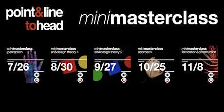point&line to head: mini masterclass entradas