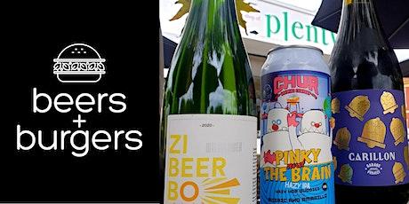 Beers & Burgers @ Plenty #10 tickets