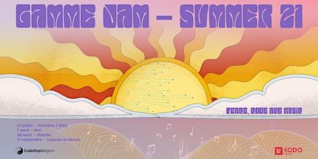 Gamme Jam - Gilly - 21/07/2021 billets