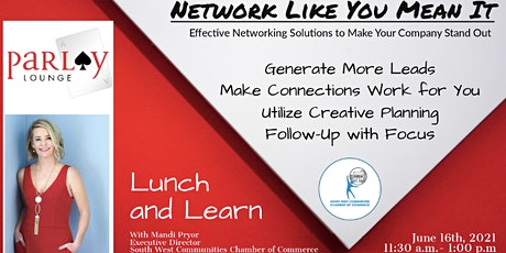 Network Like You Mean It tickets