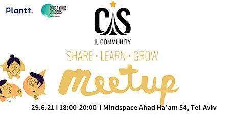 Customer Success Israel Community Meetup - Face2Face 2021 tickets