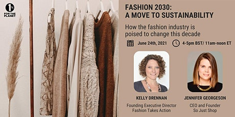 Fashion 2030: A Move to Sustainability tickets