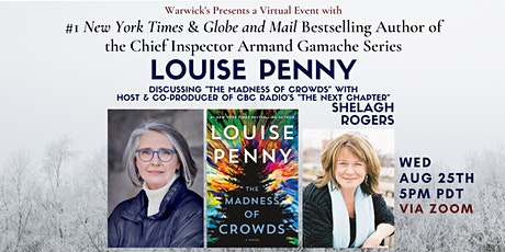 Louise Penny, the #1 NYT Bestselling author w/CBC Radio's Shelagh Rogers tickets