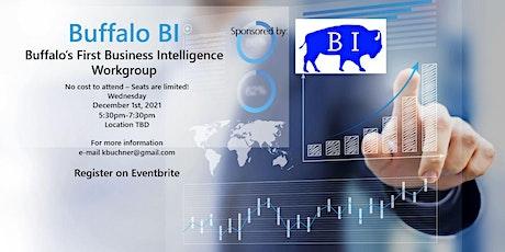 Buffalo Business Intelligence (BI) Work Group tickets