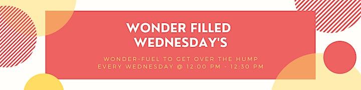Wonder Filled Wednesday (#wfw) image