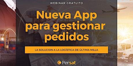 Webinar Gratuito | Nueva App para gestionar Pedidos, Logística última milla boletos