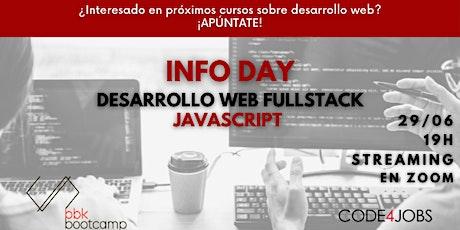 INFO DAY!! Infórmate sobre nuestros próximos cursos de programación!! entradas