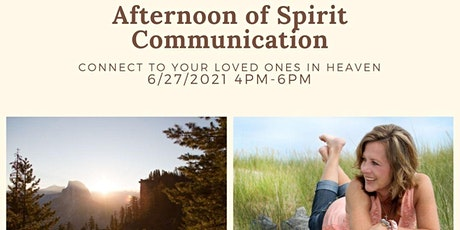 Intimate Afternoon of Spirit Communication tickets
