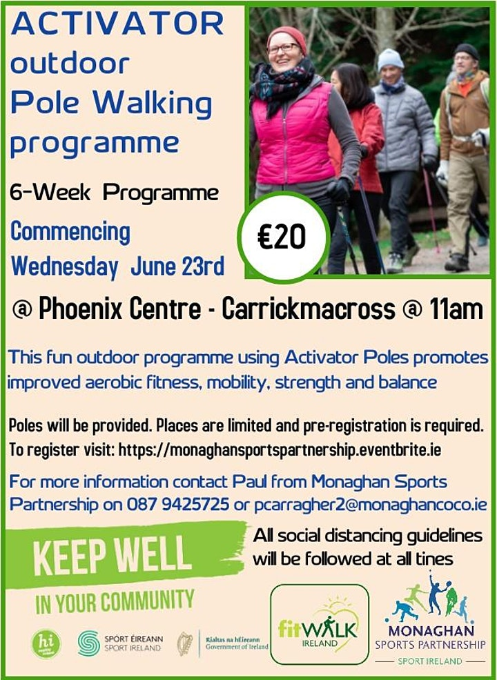 Activator Poles Programme @ Phoenix Centre Carrickmacross image