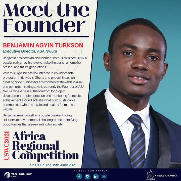 """University Startup World Cup 2021 Regional Competition: """"African Demo Day"""" image"""
