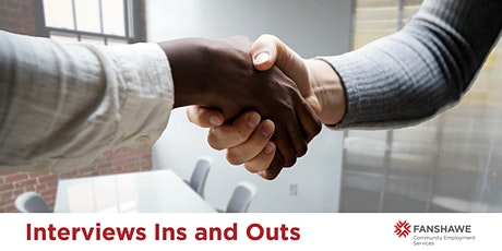 Interview Ins & Outs Workshop (Virtual) tickets