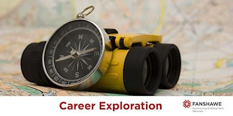 Career Exploration Workshop (Virtual) tickets