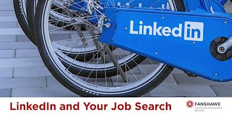 LinkedIn & Your Job Search (Virtual) tickets