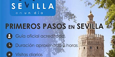 TOUR  SEVILLA. PRIMEROS PASOS. entradas