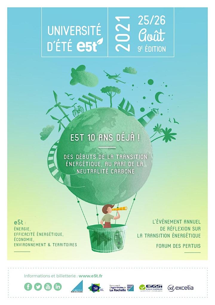 Image pour Université d'Été E5T− La Rochelle
