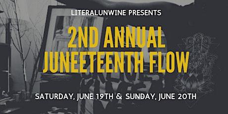 2nd Annual Juneteenth Flow tickets