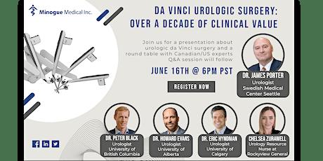 da Vinci Urologic Surgery: Over a Decade of Clinical Value biglietti