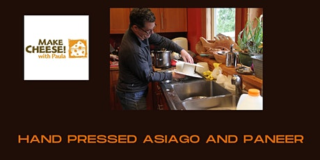 Hand pressed Asiago and Paneer tickets