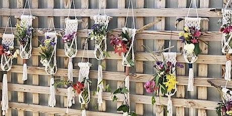 Macramé Wall Art  & Floral Arrangement- Duo class!!! tickets