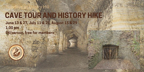 Sundays at Quarry Hill -  Cave Tour tickets