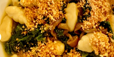 Online Class: Handmade Cavatelli with Butter Soy Mushrooms, Kale, and Toast tickets