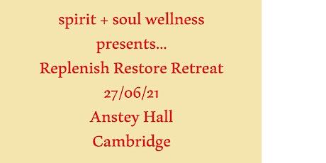 Replenish Restore Retreat tickets