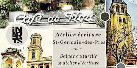 Atelier écriture & balade culturelle à St-Germain-des-Prés billets