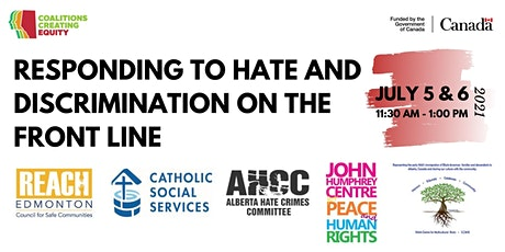 Responding to Hate and Discrimination on the Front Line tickets