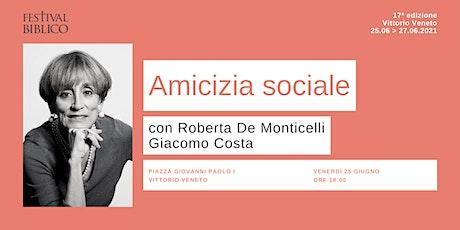 AMICIZIA SOCIALE biglietti