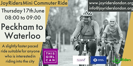 Mini Commuter Ride for Women: Peckham to Waterloo tickets