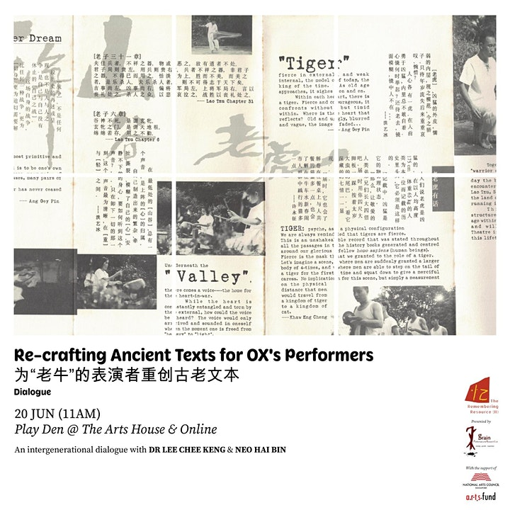 The Remembering Resource (II): RE-CRAFTING ANCIENT TEXTS FOR PERFORMER image