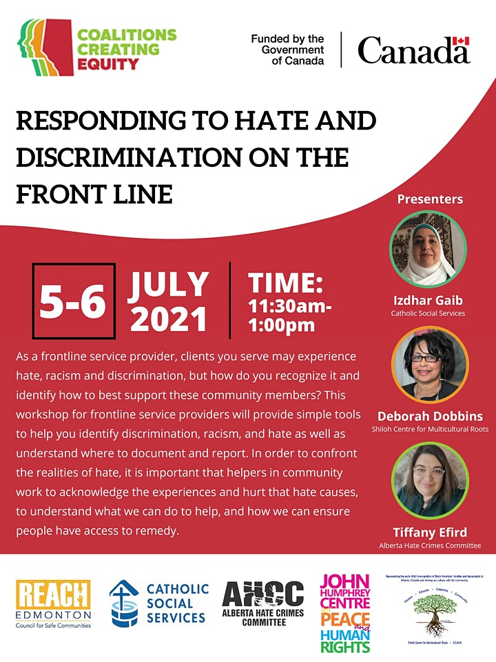 Responding to Hate and Discrimination on the Front Line image