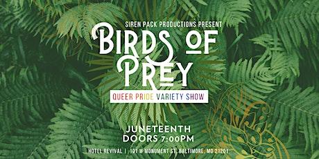 Birds of Prey - Baltimore Burlesque Variety Show tickets