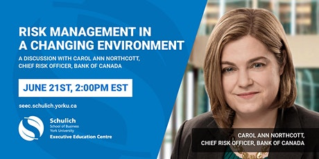 Risk Management in a Changing Environment tickets