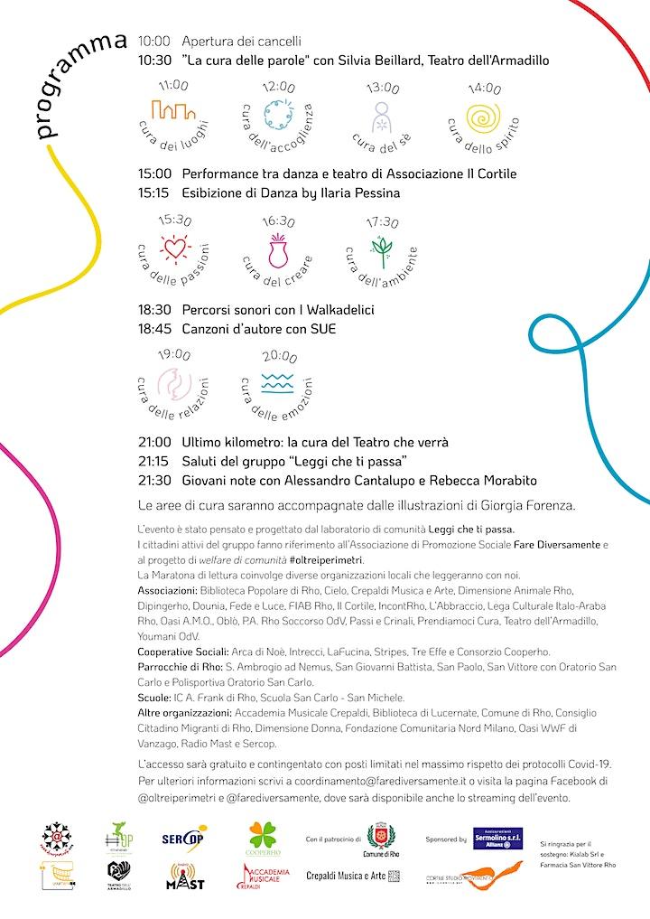 Maratona di Lettura Rho - 2021 Ad alta voce image