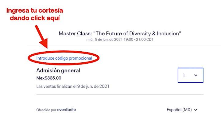 "Imagen de Master Class: ""The Future of Diversity & Inclusion"""