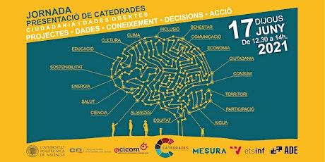Jornada presentación CATEDRADES entradas
