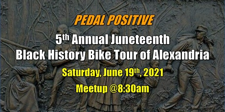 5th Annual Juneteenth Black History Bike Tour of Alexandria tickets