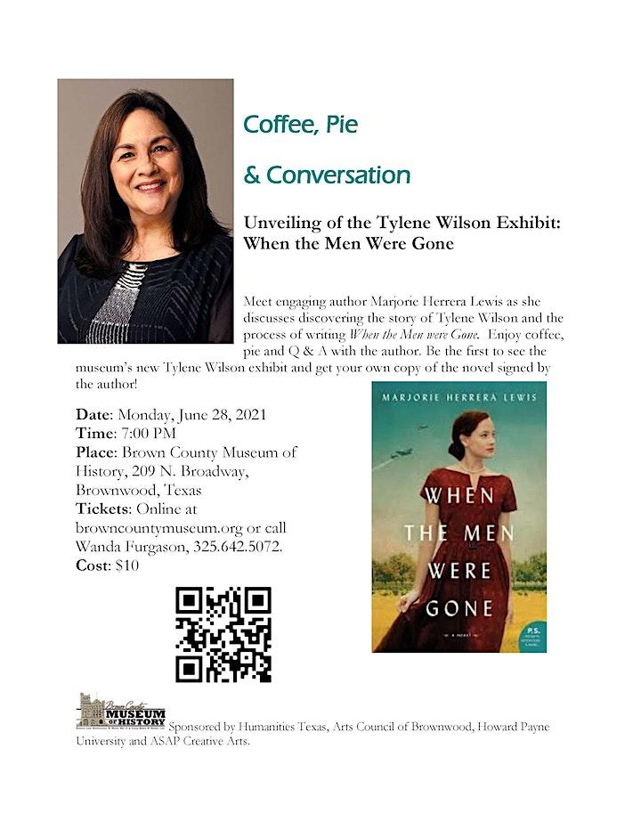 Coffee, Pie & Conversation with Marjorie Herrera Lewis image