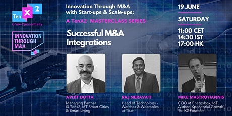 Successful M&A Integrations tickets