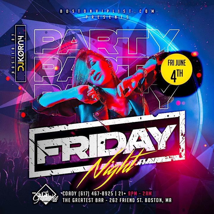FRIDAY @ Greatest Bar w/ DJ Korny image