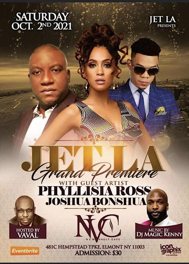 Jetla grande premiere feat Phyllisia Ross image