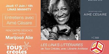Rencontre littéraire avec Marijosé Alie billets