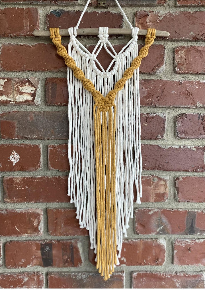 Large Macramé Wall Hangings with Bella Ruth Co. image