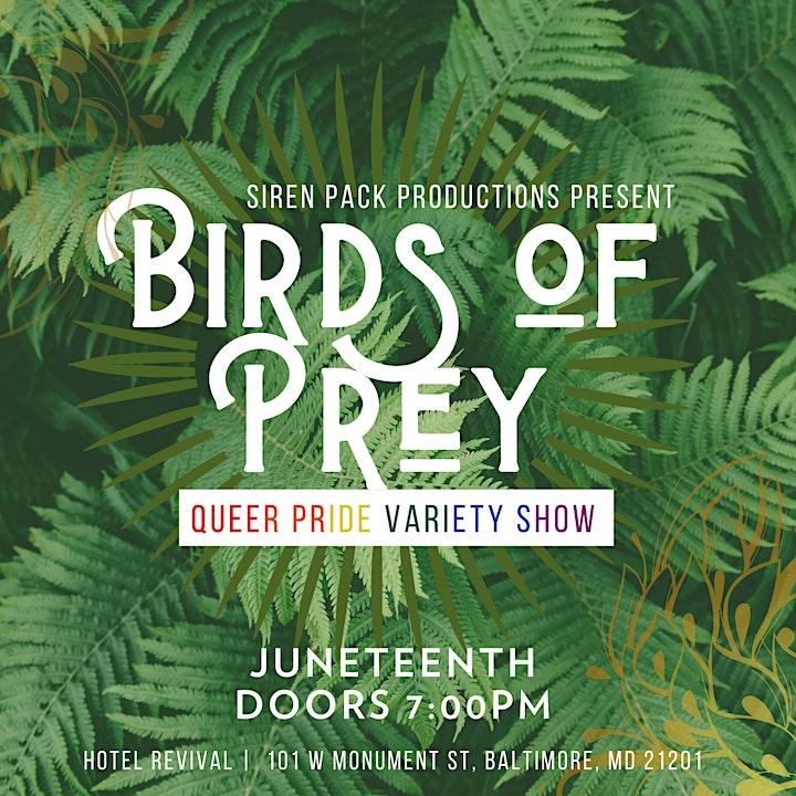 Birds of Prey - Baltimore Burlesque Variety Show image
