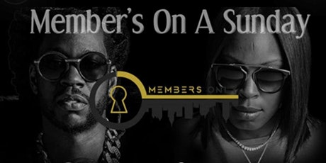 """""""Member's On A Sunday"""" The Only """"Brunch After Dark"""" Party In Atlanta Ga tickets"""